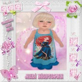 CCC Meri Nightgown - Toddleedoo BABY Only!