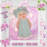 CCC Carlysle Pink Rose - Toddleedoo KID Only!