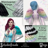 Schadenfreude Mannequiel Wings  (Marketplace Exclusive)