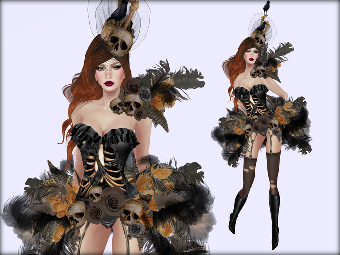 Boudoir Halloween -Fashion Revealed
