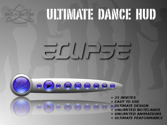 ULTIMATE Dance HUD [ECLIPSE Purple Edition] +25Invites