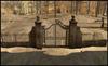 Broken park gates 2