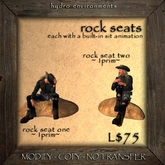 Hydro - Rock Seats - Rock Rocks Seats Seating Camping