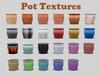 Pot textures