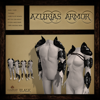 .:GSpot:. Azurias Armor Black