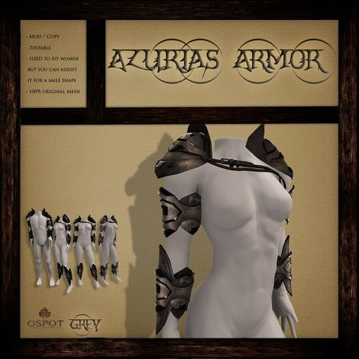 .:GSpot:. Azurias Armor Grey