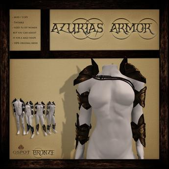 .:GSpot:. Azurias Armor Bronze