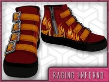 *Zanzo* Raging Inferno Hi-Tops