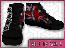 *Zanzo* Rule Britannia Hi-Tops