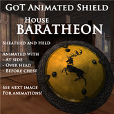 Goat On a Trampoline -GOT- Animated Shield, BARATHEON