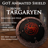 Goat On a Trampoline -GOT- Animated Shield, TARGARYEN