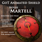 Goat On a Trampoline -GOT- Animated Shield, MARTELL