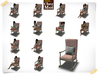 Rocking Chair Pink Multiposes Lullaby ♥ CHEZ MOI