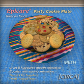 """[CIRCA] - """"Epicure"""" Party Cookie Plate (Giver) MESH"""