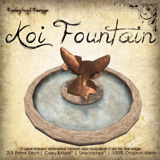 [DDD] Koi Fountain