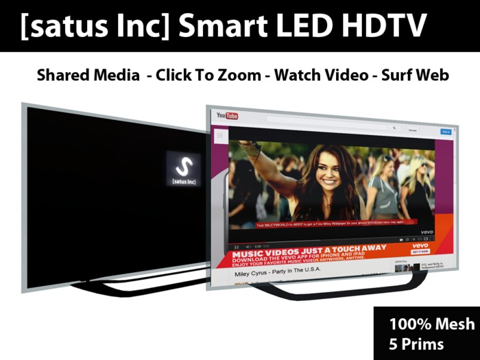 [satus Inc] Smart LED HDTV (mesh)