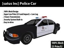[satus Inc] Police Car (mesh)