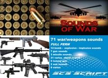 SCS SCRIPT - 71 WAR / WEAPONS SOUNDS - FULL PERM