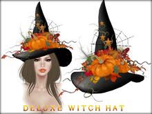 Boudoir Halloween-Deluxe Witch Hat