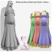 Medieval dress Maternity Mesh <Alisa> Fat Pack