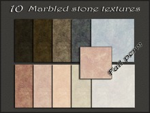 Pack 10 marbled stone textures