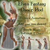 ~<Song>~ Elven Fantasy Dance Hud - Medieval, Drow, Roleplay