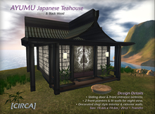 [CIRCA] - AYUMU - Teahouse - Black/Stone