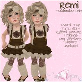 {C*K} Remi Toddleedoo Outfit