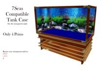 7Seas Compatible Tank Craftsman Edition Uses Transparent Tank from the 7Seas Tank Package. Display 5 or 10 fish at once