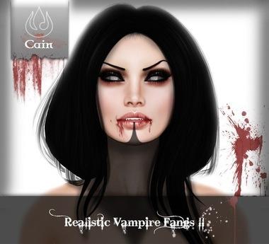 Cain - Realistic Vampire fangs II