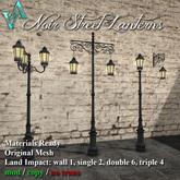 Atelier Visconti Noir Street Lanterns