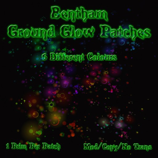 Bentham Ground Glow Patches (Boxed)