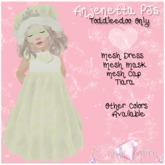 {C*K} Anjenetta Princess Pj Toddleedoo Baby & Kid Yellow