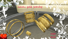 savoha gold  jewelry set  SALE