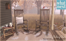 {what next} Bramley Rocking Chair (Pine) (Boxed)