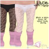{C*K} Lacie Modest Leggings - Black and White Toddleedoo