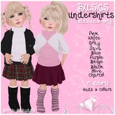 {C*K} Turtle Neck Undershirts-Pack of 10 Colors