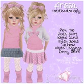 {C*K} Arissa Toddleedoo Outfit Kid and Baby