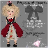 {C*K} Princess of Hearts Toddleedoo Dress Costume
