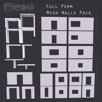 Aimesi Mesh Walls Pack V1