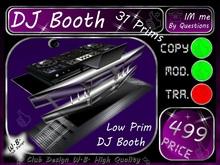 DJ Booth 9 Mesh Sculp Booth 31 Prims ^^