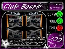 Application Board 4 DJ / Host - Indicator Drop Notecard etc