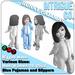 Intrigue Co. - Blue Bunny Pajamas