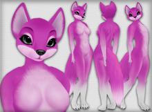 Chilla Fox - Magenta - Chinchilla Furry Mod BOM