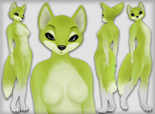 Chilla Fox - Lime - Chinchilla Furry Mod BOM