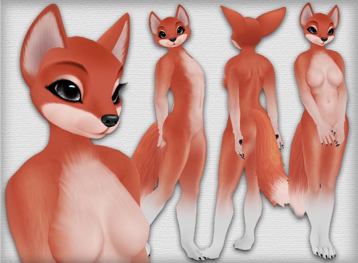 Chilla Fox - Red - Chinchilla Furry Mod BOM
