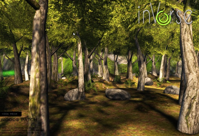 inVerse® MESH_ Woods Patch *mesh*