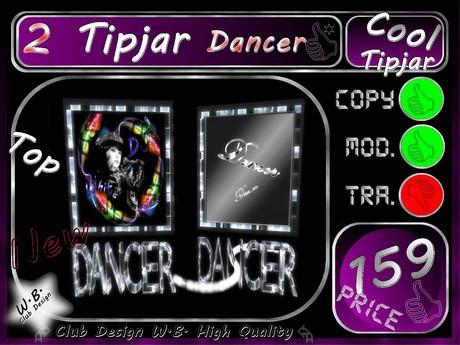 Dancer Tip jar 2 >> Tip jar Dancer >>
