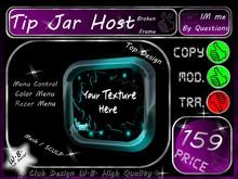 Host Tip jar 10 >> Tip jar Host Broken Frame <<