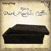 [DDD] Dark Marble Coffin - Open